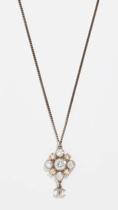 Chanel What Goes Around Comes Around Crystal Necklace