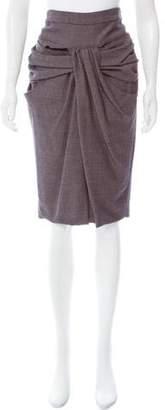 Thakoon Draped Pencil Skirt