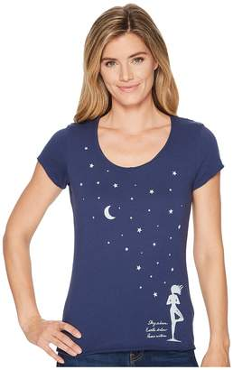 Life is Good Celestial Yoga Smooth Scoop Tee Women's T Shirt