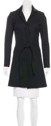 Balenciaga Wool Trench Coat