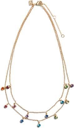 Banana Republic Multi Stone Layered Necklace
