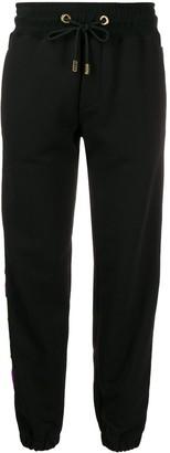 GCDS logo tape track trousers