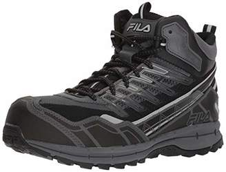Fila Men's Hail Storm 3 Mid Composite Toe Trail Work Shoes Hiking