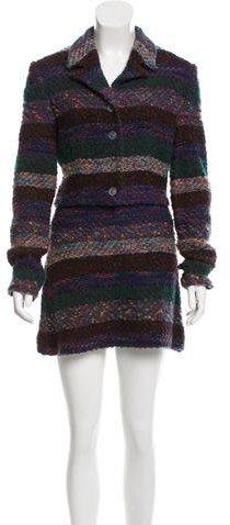 MissoniMissoni Bouclé Wool Skirt Suit