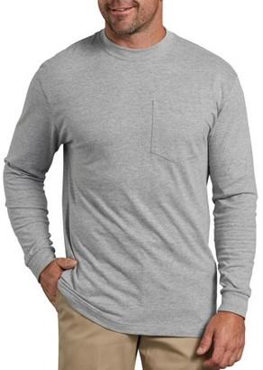 Dickies Big Men's Heavy Weight Long Sleeve Pocket T-Shirt, 2-Pack