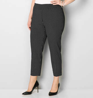 Avenue Diamond Super Stretch Pull-On Ankle Pant