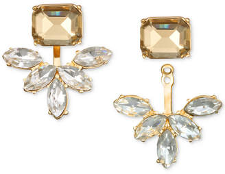 Badgley Mischka Crystal & Stone Ear Jacket Earrings