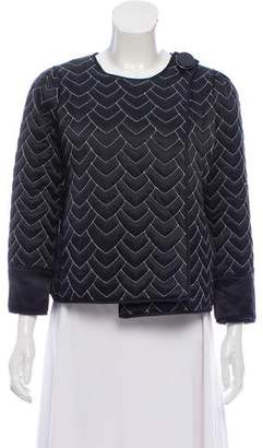 Marc by Marc Jacobs Quilted Silk Jacket