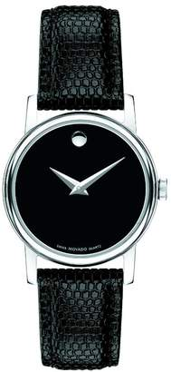 Movado Women's Museum Classic Round Dial Strap Watch 2100004