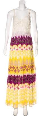 Diane von Furstenberg Marny Crinkle Maxi Dress