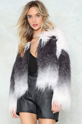 Nasty Gal Fur My Sake Faux Fur Coat