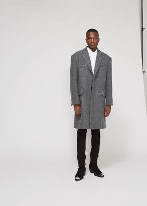 Calvin Klein Tweed Overcoat