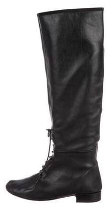 Repetto Leather Knee-High Boots