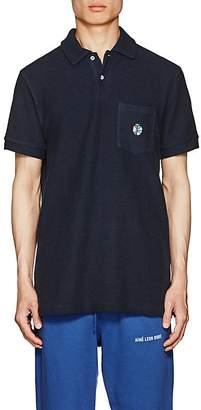 Leon Aime Dore Men's Cotton Terry Polo Shirt