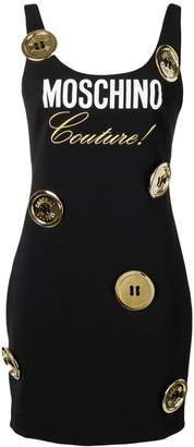 Moschino logo dress