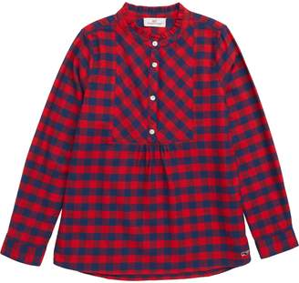 Vineyard Vines Buffalo Check Flannel Popover Shirt