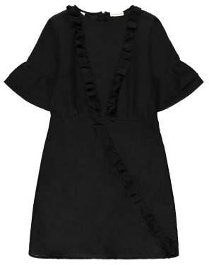 Sale - Odina Ruffled Dress - Les Coyotes de Paris Women