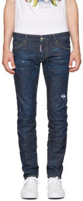 DSQUARED2 Blue Regular Clement Jeans