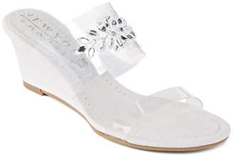 NEW YORK TRANSIT New York Transit Fan Of Mine Womens Wedge Sandals