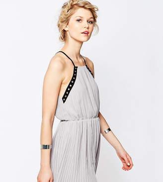 True Decadence Petite Eyelet Trim Chiffon Cami Dress