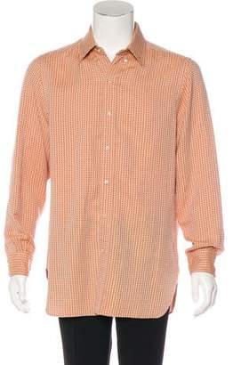 United Arrows Camoshita By Jacquard Woven Shirt