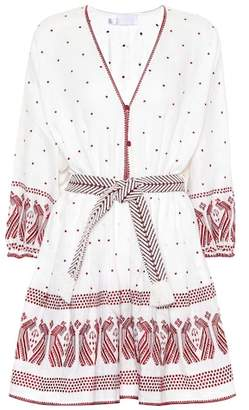 Zimmermann Exclusive to mytheresa.com – embroidered linen dress