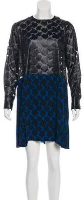 Tanya Taylor Silk Jacquard Dress w/ Tags