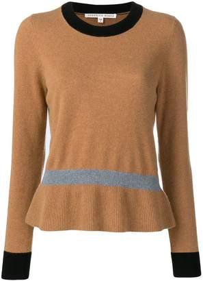 Veronica Beard contrasting hem sweater