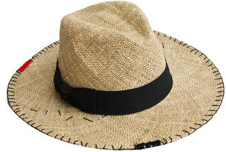 Justine Hats Wide Brimmed Straw Hat