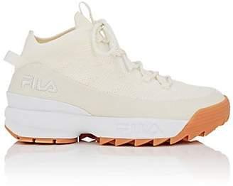 Fila Men's BNY Sole Series: Men's Spaghetti Knit Sneakers - White