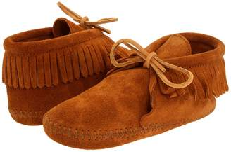 Minnetonka Kids Classic Fringed Boot Softsole Kids Shoes