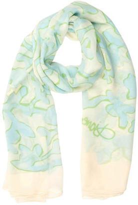Diane von Furstenberg Silk Multicolor Scarf $65 thestylecure.com