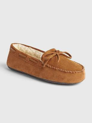 Gap Suede Moccasin Slippers