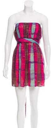 Christian Dior Metallic Mini Dress