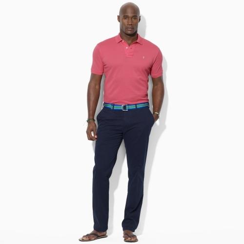 Polo Ralph Lauren Big & Tall Custom-Fit Twill Pant