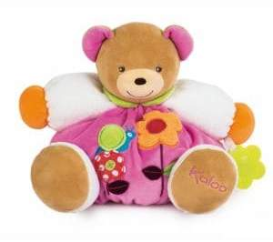 Kaloo Chubby Bear& Teething Ring