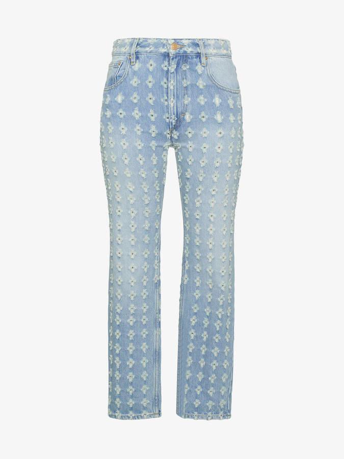 Corliff distressed jeans