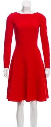 Michael Kors Wool Knee-Length Dress