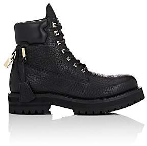 Buscemi Men's Lace-Up Boots-Black