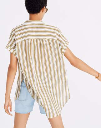 Madewell Central Tunic Shirt in Williams Stripe