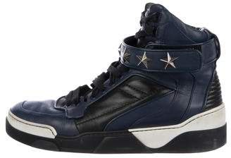 Givenchy Tyson Star Leather Sneakers