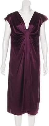 Lanvin Silk Midi Dress