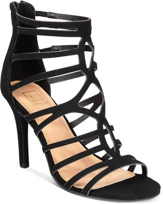 Material Girl Pixie Caged Sandals, Women Shoes