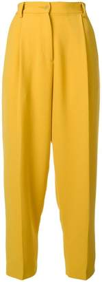 P.A.R.O.S.H. high-waist cropped trousers
