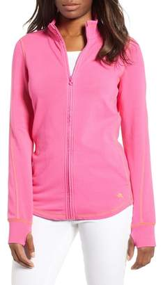 Tommy Bahama Jen and Terry Full Zip Top