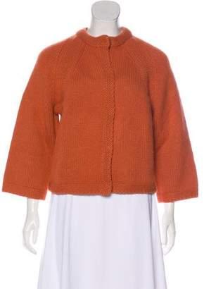Akris Punto Wool-Blend Cardigan