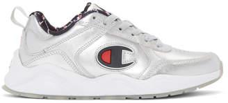 Champion Reverse Weave Silver Metallic 93Eighteen Sneakers