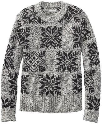L.L. Bean L.L.Bean Women's Signature Wool-Blend Ragg Sweater