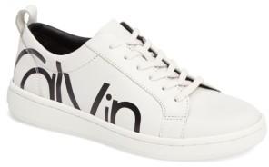 Women's Calvin Klein Danya Logo Sneaker $118.95 thestylecure.com