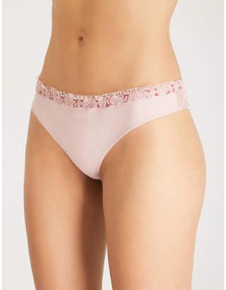 La Perla Elements stretch-lace thong